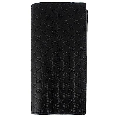 GUCCI-Guccissima-黑色厚質真皮壓紋
