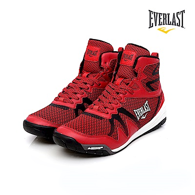 EVERLAST 專業拳擊鞋-男-紅
