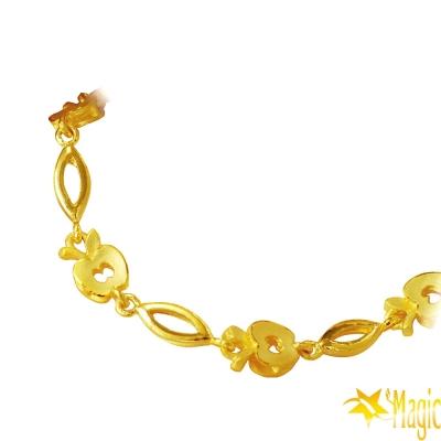 Magic魔法金-愛的果實黃金手鍊(約2.5錢)