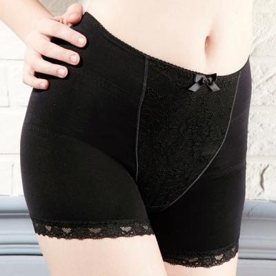 推EASY SHOP-微整佳人 高腰平口骨盤修飾褲(低調黑)