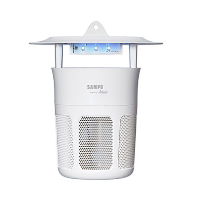 SAMPO聲寶-吸入式強效UV捕蚊燈-白-ML-WJ04E-W