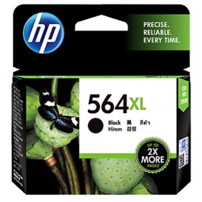 HP CN684WA #564XL 黑色原廠高容量墨水匣