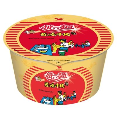 統一麵 蔥燒牛肉風味碗(12入/箱)