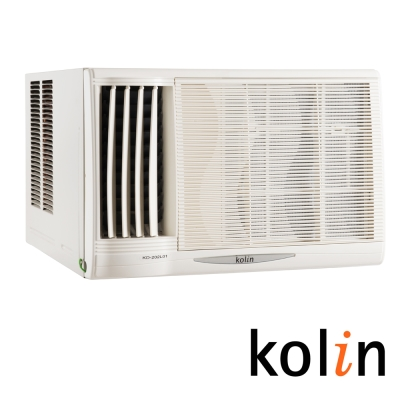 限量福利品-KOLIN 歌林  6 - 8 坪「節能不滴水」左吹窗型冷氣 KD- 412 L 06