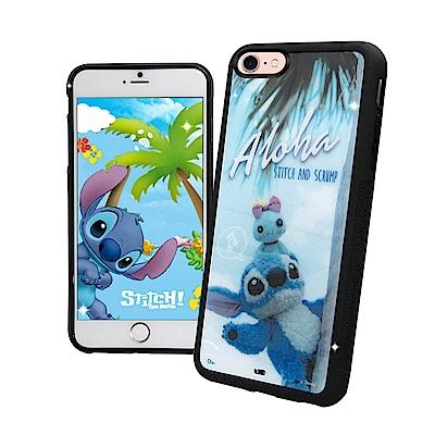 迪士尼正版 iPhone 8/iPhone 7 4.7 史迪奇布偶版 防滑手機殼...