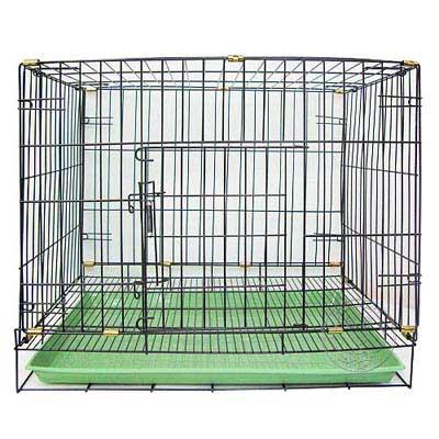 台灣製造★《單門折疊式》靜電黑體居家狗籠-2尺