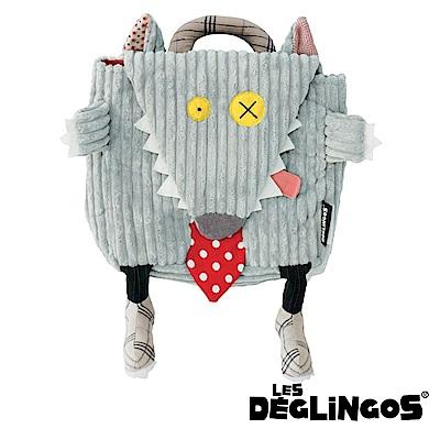 Les Deglingos 立體玩偶背包(兒童背包)-狼 (BIGBOS)