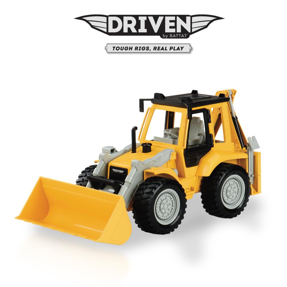 Battat 雙頭輪胎式裝載機_Driven系列
