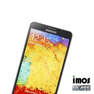 iMos-Samsung Note3-Solid EX 0.33mm 9H玻璃保...