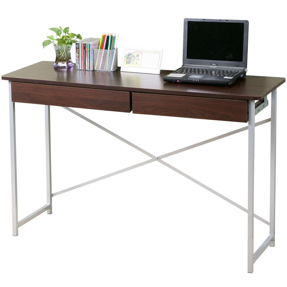 Homelike 超值附抽工作桌-寬120公分(二色可選)