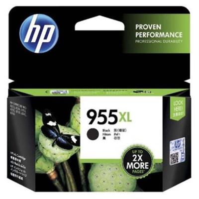 HP 955XL 高容量黑色原廠墨水匣