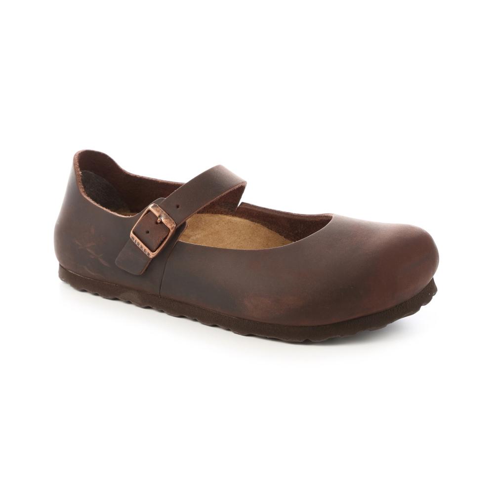 勃肯BIRKENSTOCK 622153。曼切華 包鞋(深褐)