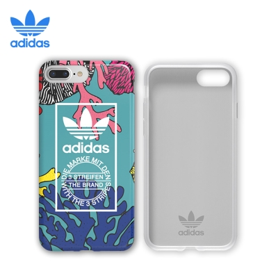 adidas iPhone 7/7 plus 彩繪系列 珊瑚