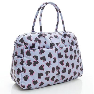 VOVAROVA空氣包-波士頓包-彩繪甜心(紫)-法國設計系列