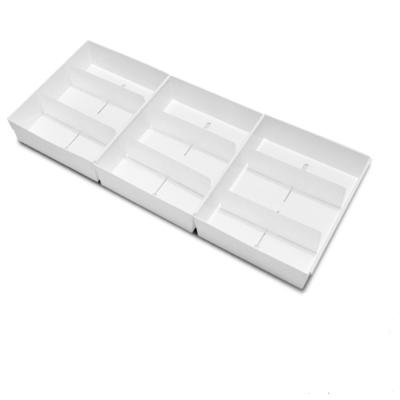 抽屜收納整理盒(Lx3入) WallyFun