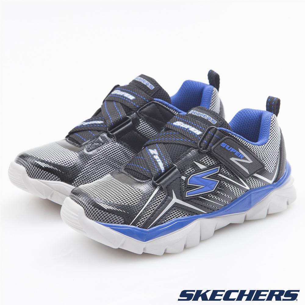 SKECHERS (童) 男童系列 Electronz - 95405LBKRY
