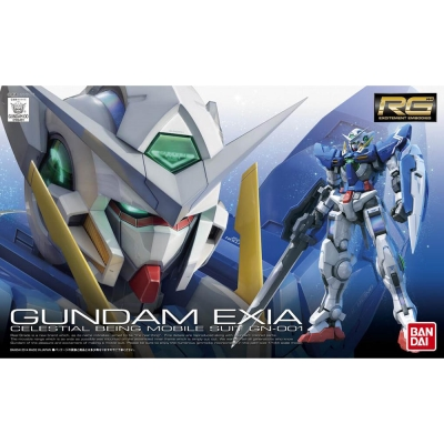 BANDAI GUNDAM鋼彈RG 1/144 GN-001 能天使鋼彈 15