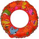 速霸 泳圈 可愛動物卡通圖案兒童泳圈(桔色2入)