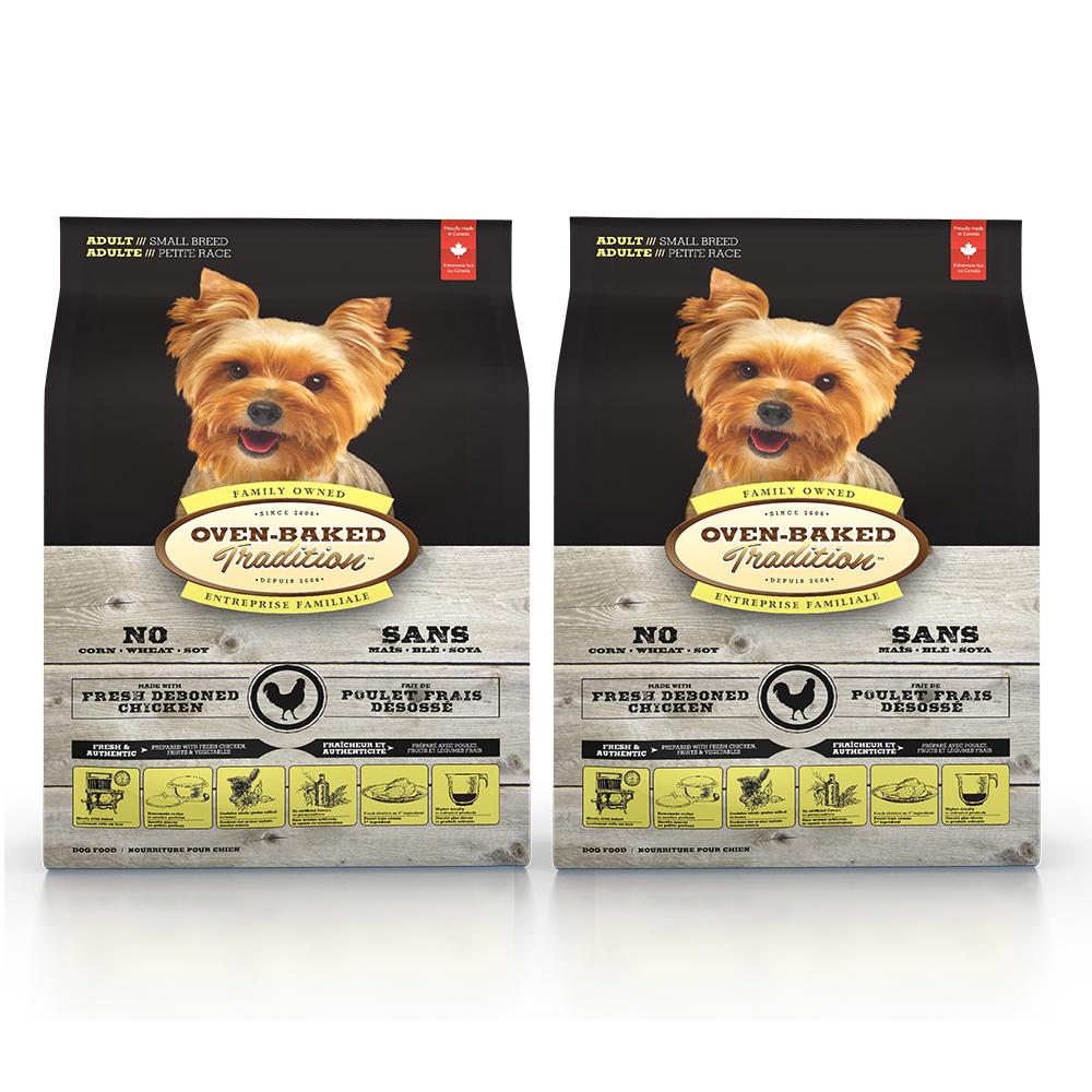 Oven-Baked烘焙客 成犬 雞肉口味 低溫烘焙 非吃不可 12.5磅 x 2包
