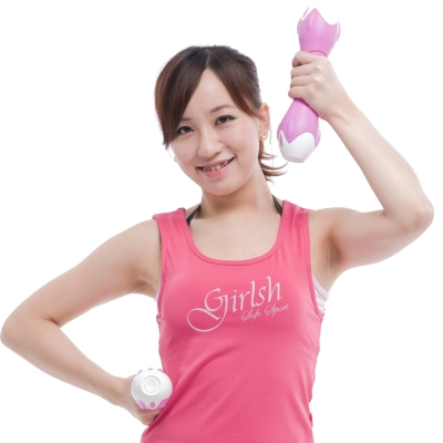 Fun Sport  創意訓練啞鈴2kg粉紅色(一手1公斤)