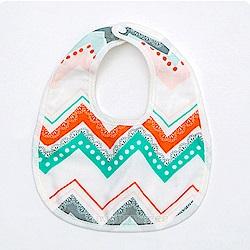 baby童衣 6層全棉嬰幼兒暗扣圍兜 60369