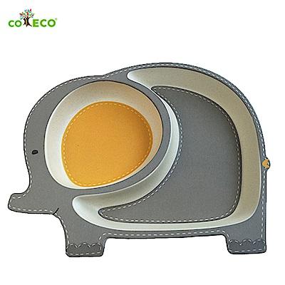 coeco竹纖維動物造型兒童餐盤