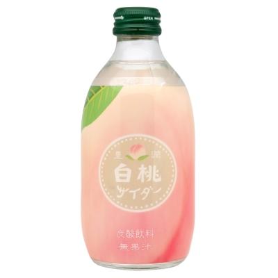 友飲料 白桃風味蘇打飲料(300ml)
