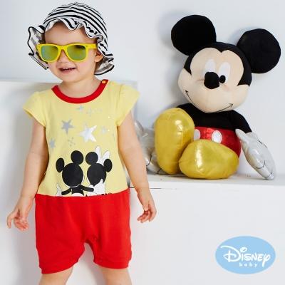 Disney baby 浪漫星空連身裝 黃色