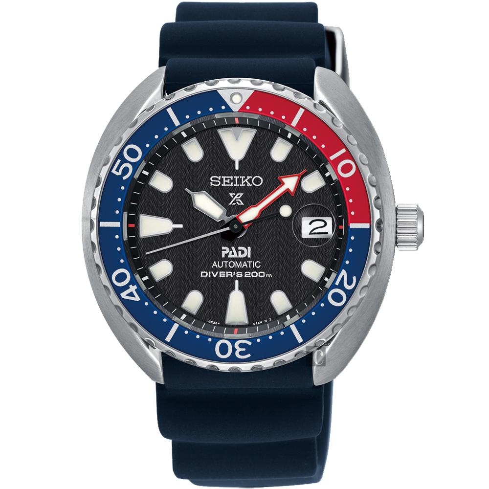 (無卡分期6期)SEIKO Prospex PADI 聯名潛水200米機械錶(SRPC41J1)