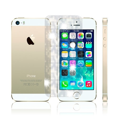 D&A 蘋果 iPhone5/5S/SEC專用日本AAA頂級螢幕保護貼(...