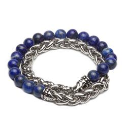 ZENGER  經典時尚串珠系列-鐵漢-藍