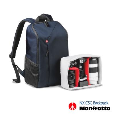 Manfrotto 開拓者微單眼後背包 NX Backpack CSC -夜空藍