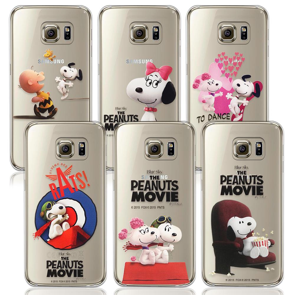 原廠授權三星Galaxy S6 G9208史努比限定紀念版彩繪TPU手機軟殼