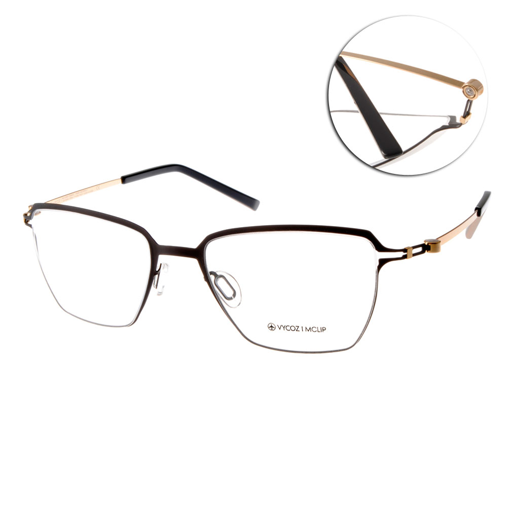 VYCOZ眼鏡 完美創新/黑-金#TOMS BLKGD