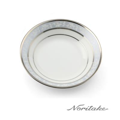 Noritake 花舞春風銀邊點心盤14cm