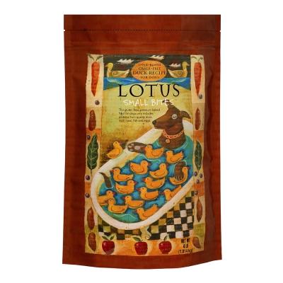 LOTUS樂特斯 無穀鮮鴨佐田野食蔬-全犬-4磅(小顆粒)