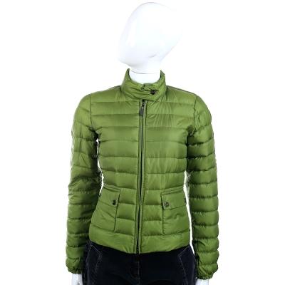 MARELLA 車縫設計羽絨外套(綠色)