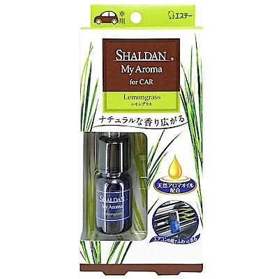 日本雞仔牌 SHALDAN精油冷氣孔夾式芳香消臭劑-檸檬草