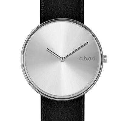 a.b.art DL系列 都會極簡時尚腕錶-銀/39mm