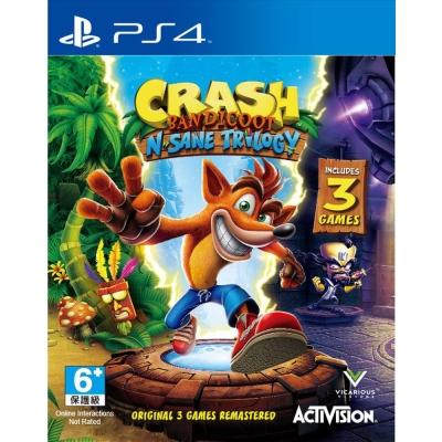 袋狼大進擊 瘋狂三部曲 -PS4亞洲英日文版