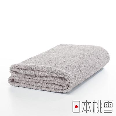 日本桃雪今治飯店浴巾(淺灰)