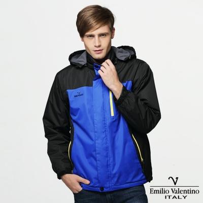 Emilio Valentino 范倫提諾防風刷毛外套-深藍