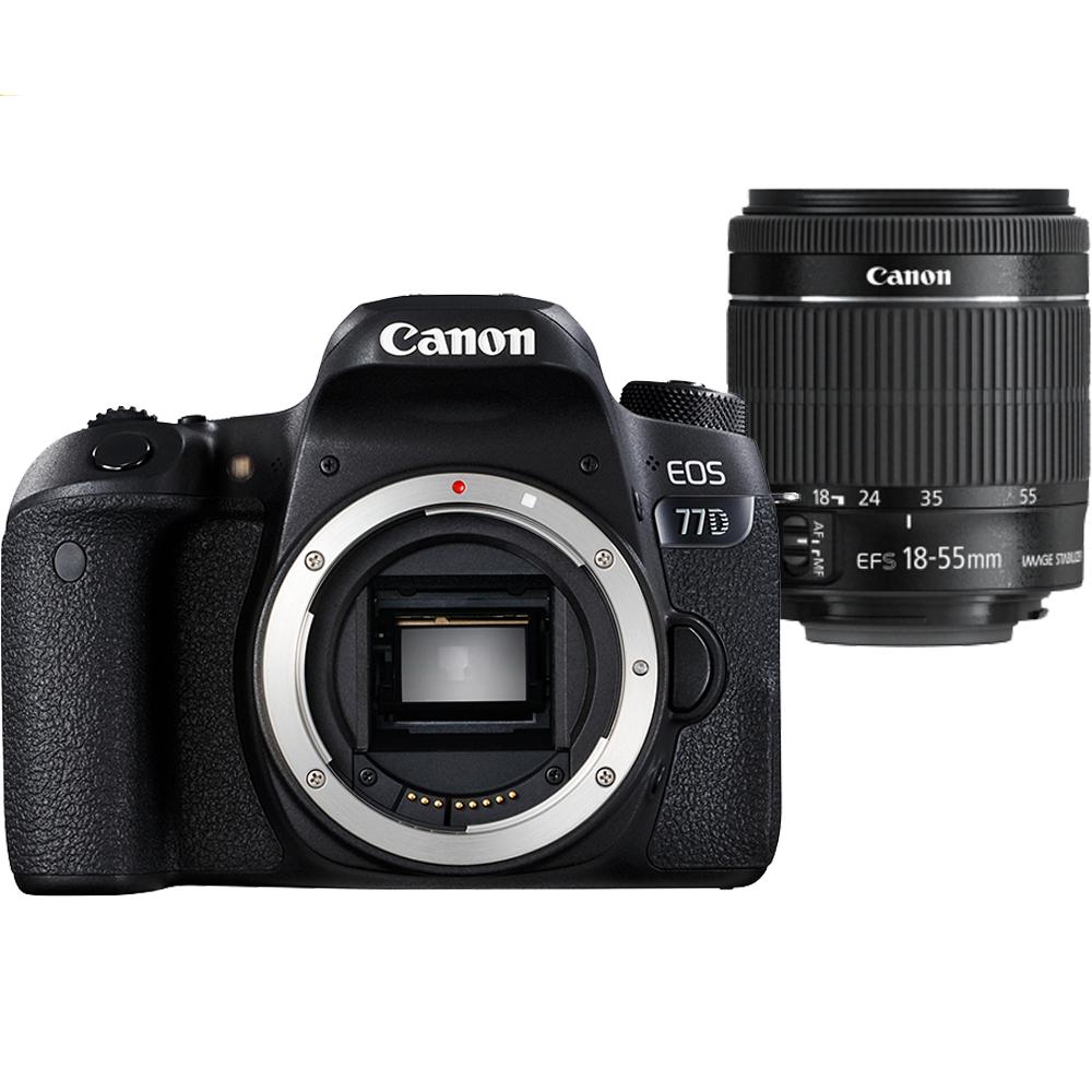 Canon EOS 77D+18-55mm 單鏡組*(平輸中文)