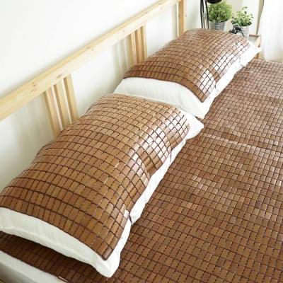 絲薇諾 天然炭化專利麻將竹枕墊-1入