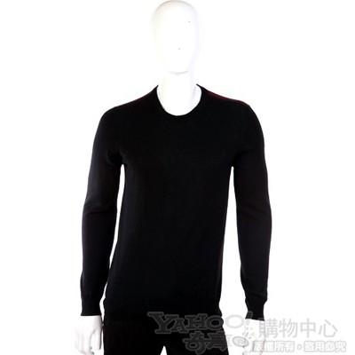 GUCCI 圓領針織長袖上衣(黑色)