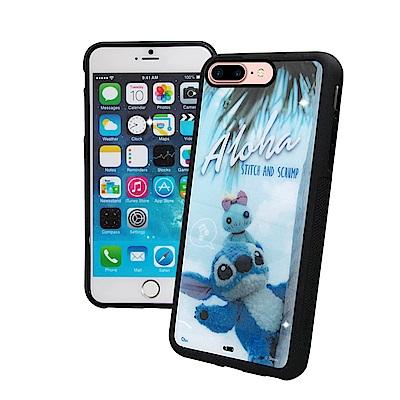 迪士尼正版 iPhone 8 / 7 Plus 史迪奇布偶版 防滑手機殼(Hi)