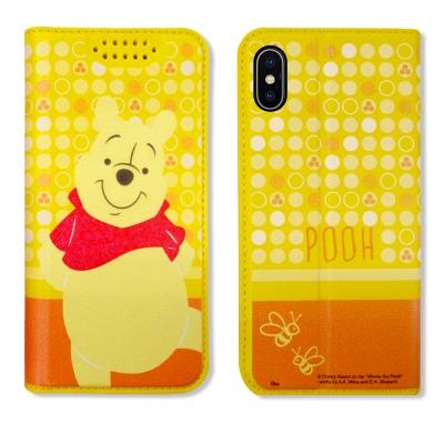 迪士尼正版授權 iPhone X 普普風彩繪手機皮套(維尼)