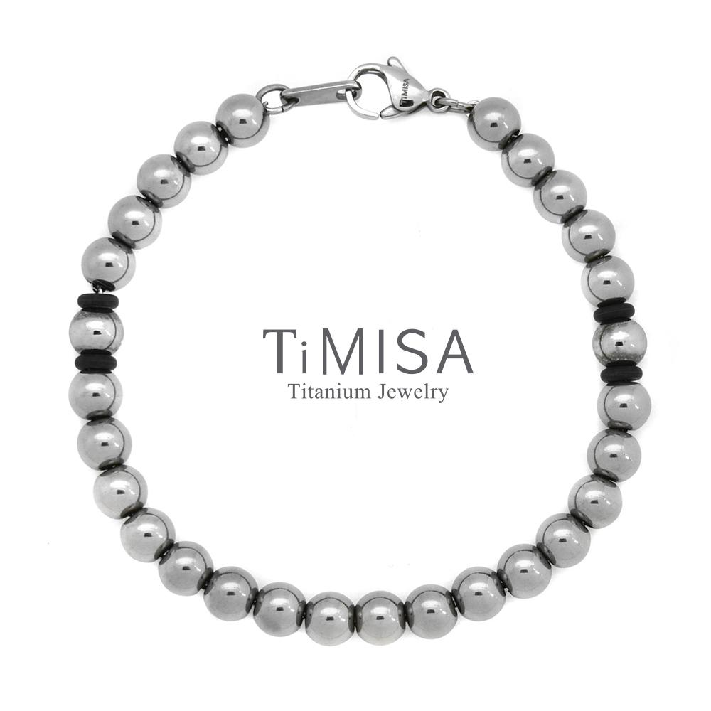 TiMISA 鈦鍺珠M 手鍊