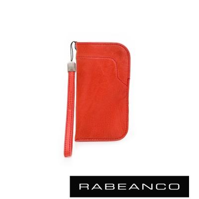 RABEANCO-色彩美學皮革手機袋-紅