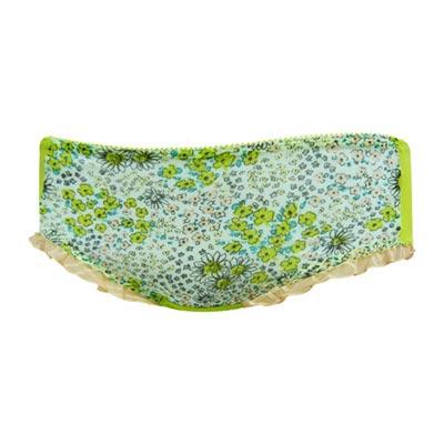 【瑪登瑪朵】心花拉溝 低腰平口棉褲(童話綠)